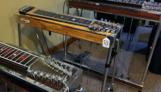 Hummingbird Music of Sugarcreek, Ohio, Kline Sho Bud Emmons Pedal Steel Guitar, Rick Troyer